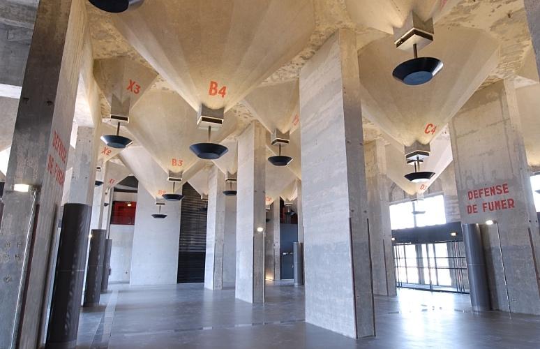 Silo à Marseille Salle des Mamelles