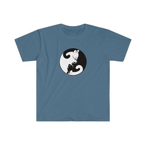 Yin Yan Kittens - Unisex Softstyle T-Shirt