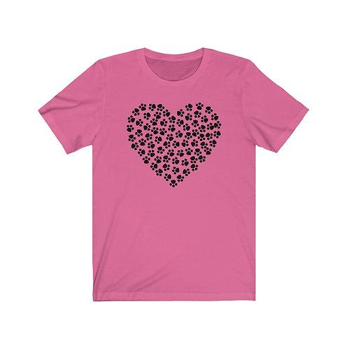 Hearts & Paws - Unisex Jersey Short Sleeve Tee