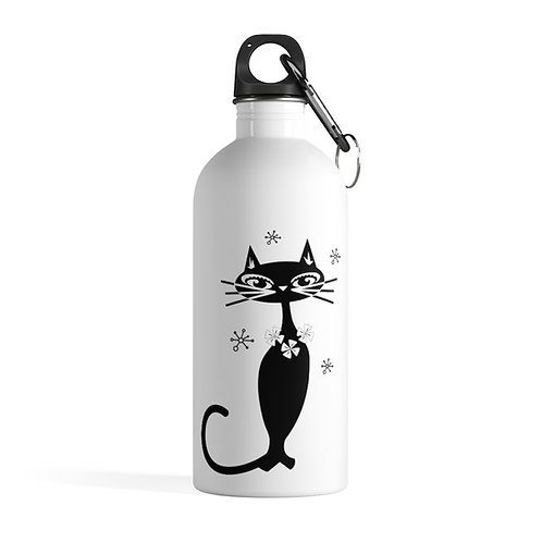 Breakfast at Kitty's Stainless Steel Water Bottle