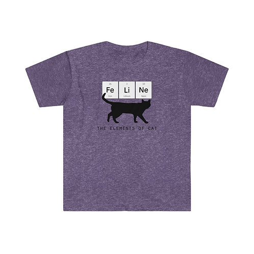 The Elements of Cat  - Unisex Softstyle T-Shirt