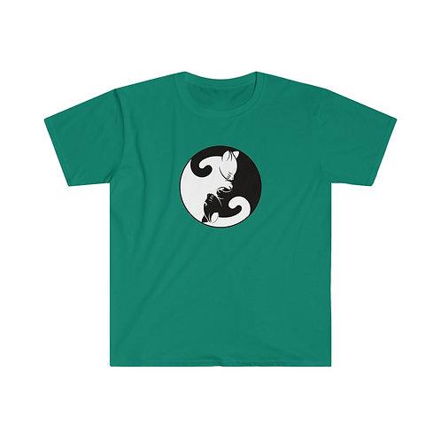 Yin Yang Kittens - Unisex Softstyle T-Shirt