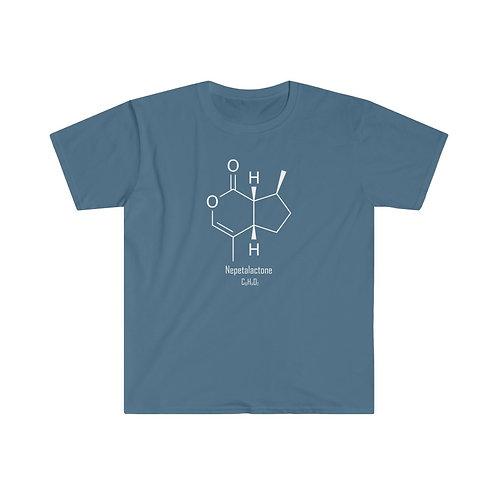 Nepetalactone - Chemical Formula - Unisex Softstyle T-Shirt