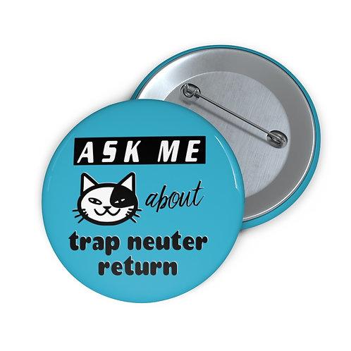 """Ask Me about TNR"" Button (blue)"