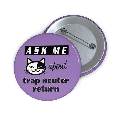 """Ask Me about TNR"" Button (purple)"