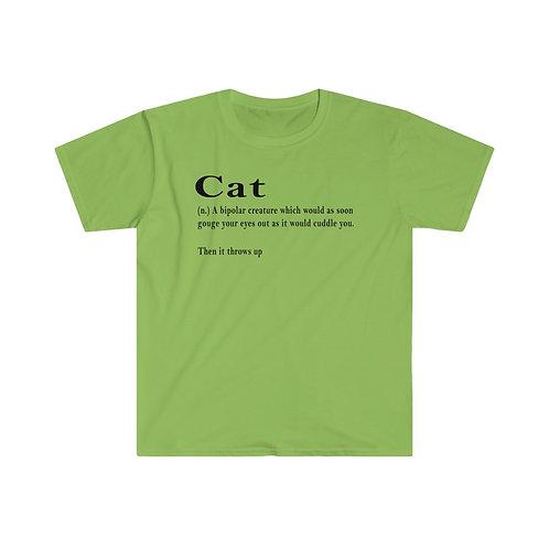 Cat definition - Unisex Softstyle T-Shirt
