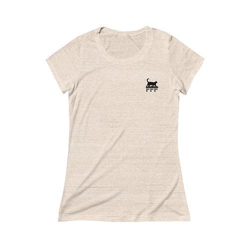 FFF Women's Triblend Short Sleeve Tee