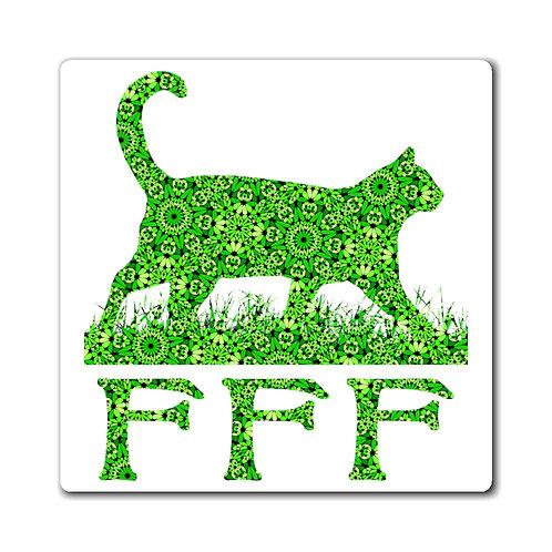 FFF Logo Magnet - Spring Green