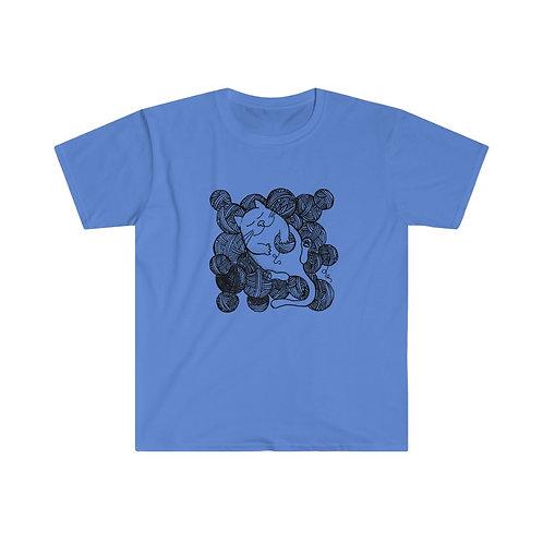 Knitty Kitty - Unisex Softstyle T-Shirt