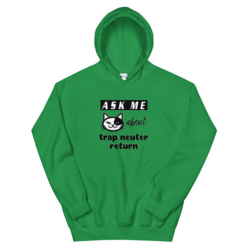 Ask Me About TNR - Unisex Heavy Blend Hoodie