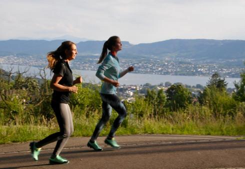 Women run the Green Marathon