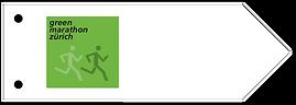 Wegweiser Green Marathon Zürich Signalisation Ausschilderung