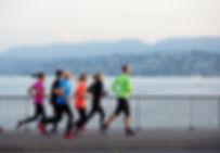Joggen in Zürich Laufstrecke Laufgruppe