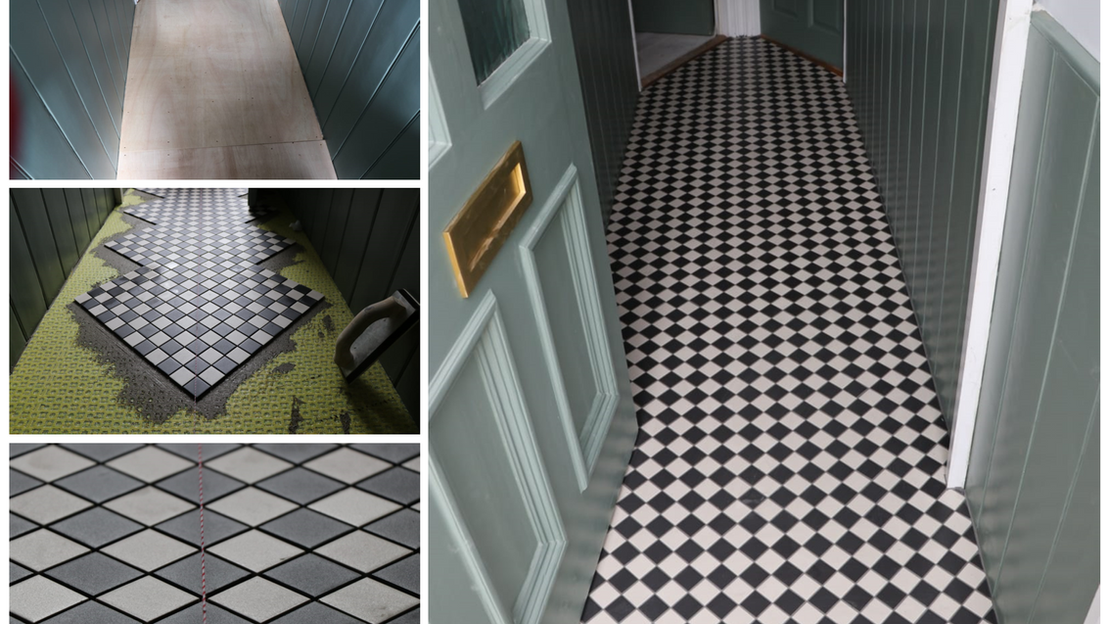 Victorian Mosaic style Tiles