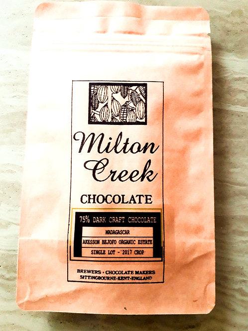 75% DARK CRAFT CHOCOLATE - MADAGASCAR