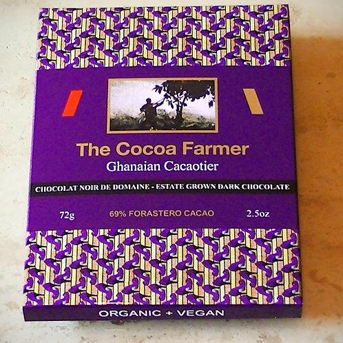 69% DARK FORASTERO CACAO CHOCOLATE,Est 70g