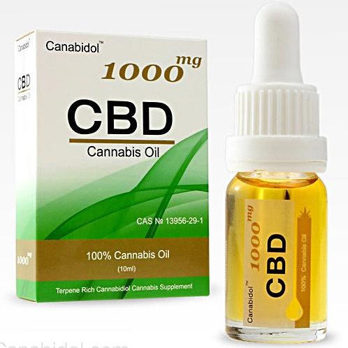 CANABIDOL™ CANNABIS CBD OIL DROPS - 1000mg