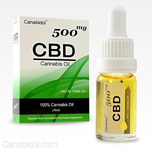 CANABIDOL™ CANNABIS CBD OIL DROPS -500mg