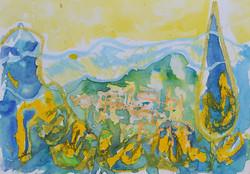Tuscan hills, Paganico