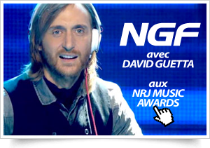 NGF avec David Guetta aux NRJ Music Awards