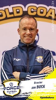 John Buick Gold Coast Force Futsal