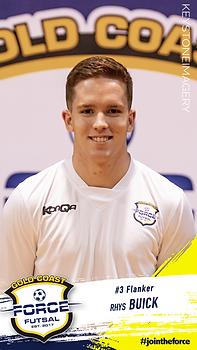Rhys Buick Gold Coast Force Futsal