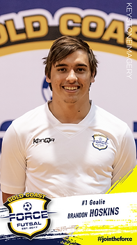 Brandon Hoskins Gold Coast Force Futsal