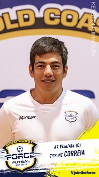Thirone Correia Gold Coast Force Futsal