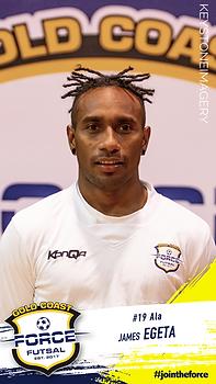 James Egeta Gold Coast Force Futsal