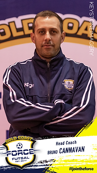 Bruno Cannavan Gold Coast Force Futsal