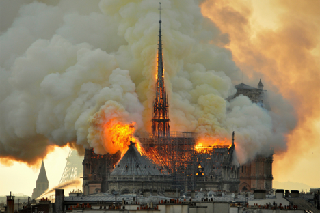 The Aftermath of the Notre Dame Fire