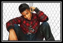 Upcoming R&B artists Trevor Jackson and B Smyth