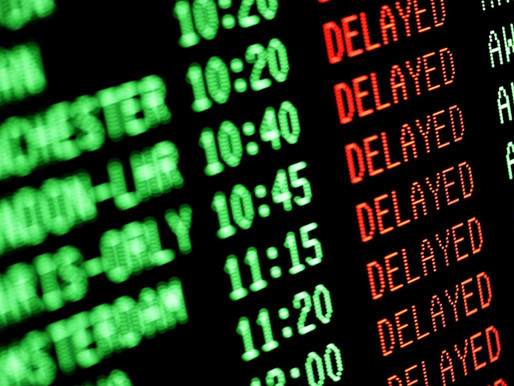 Delayed Flights Directly Attributable to the Partial Government Shutdown