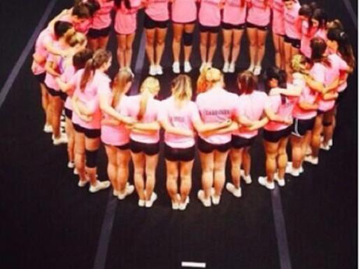 Cheerleaders bring home a win