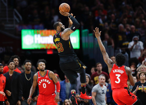 Cavaliers sweep 1st seed Raptors in Eastern Conference Semifinals