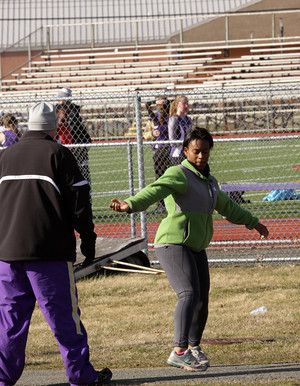 Track team welcomes new coach