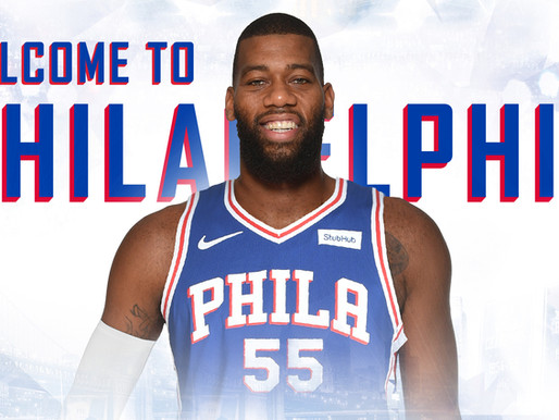 Philadelphia 76ers Officially Sign Center Greg Monroe for the Remainder of the Season, via GM Elton