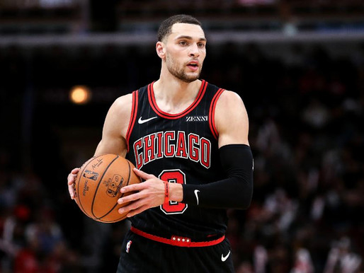 Chicago Bulls' Guard Zach LaVine Will Miss 2-4 Weeks With Ankle Injury