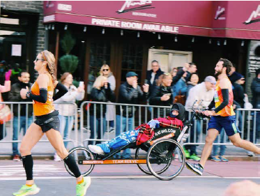 Two Heroes and the NYC Marathon