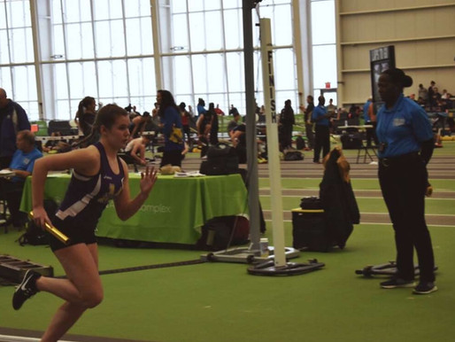 Girls winter track team finishes season successfully