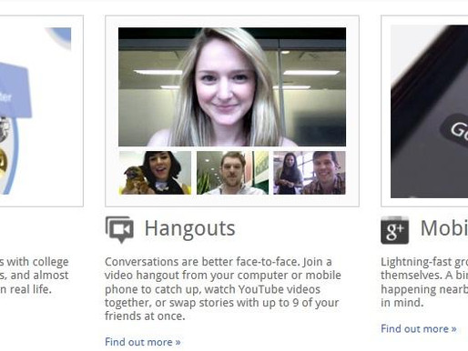 +1 – Add Google+ to your network