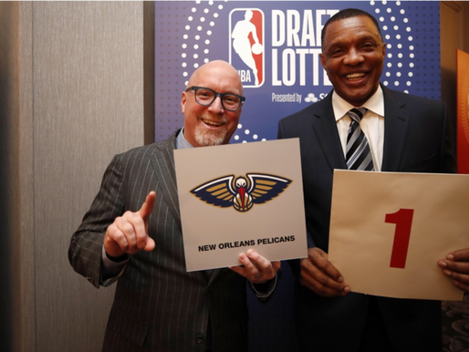 NBA: Draft Lottery Results