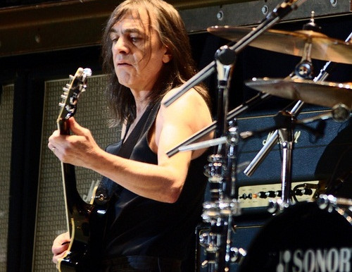 AC/DC's Malcolm Young taking hiatus from band due to poor health