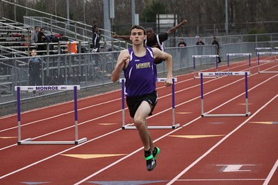 Falcons take flight on the boys track team