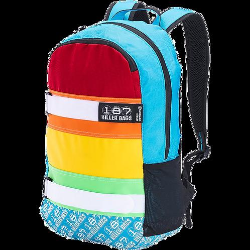187 Rainbow Skateboard Back Pack