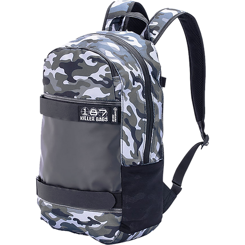 187 Camo Skateboard Backpack