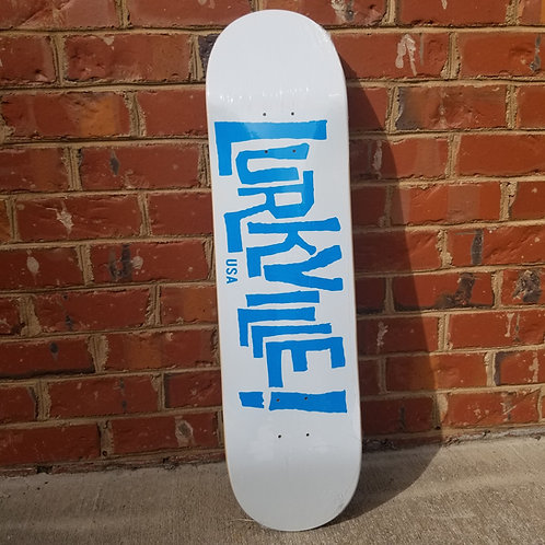 Lurkville 8.25 White/Blue