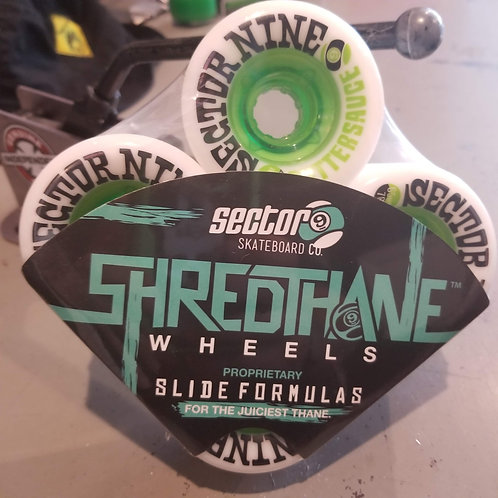 """Sector 9 """"Shred Thane"""" Butter Sauc2 65mm/78A"""