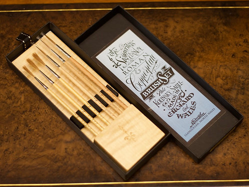 SYCAMORE - Roman & Copperplate brush set.