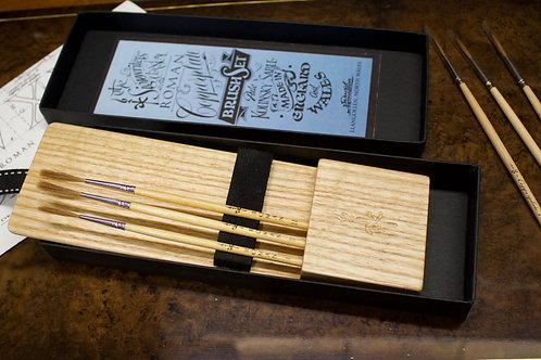 ASH Roman & Copperplate brush set